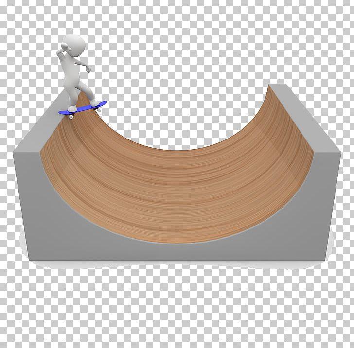 Skateboard Half.