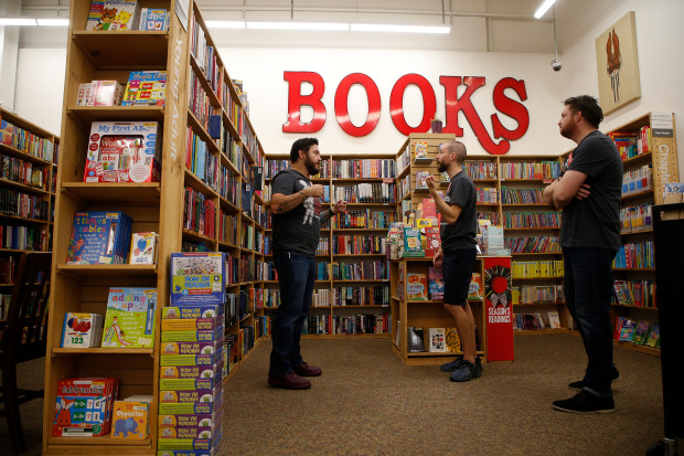 Half Price Books launches new Concord shop after leaving.
