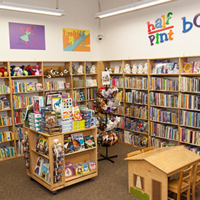 Half Price Books, Fremont, CA.