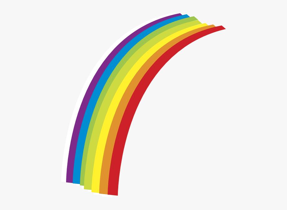Half Rainbow Clipart , Transparent Cartoon, Free Cliparts.