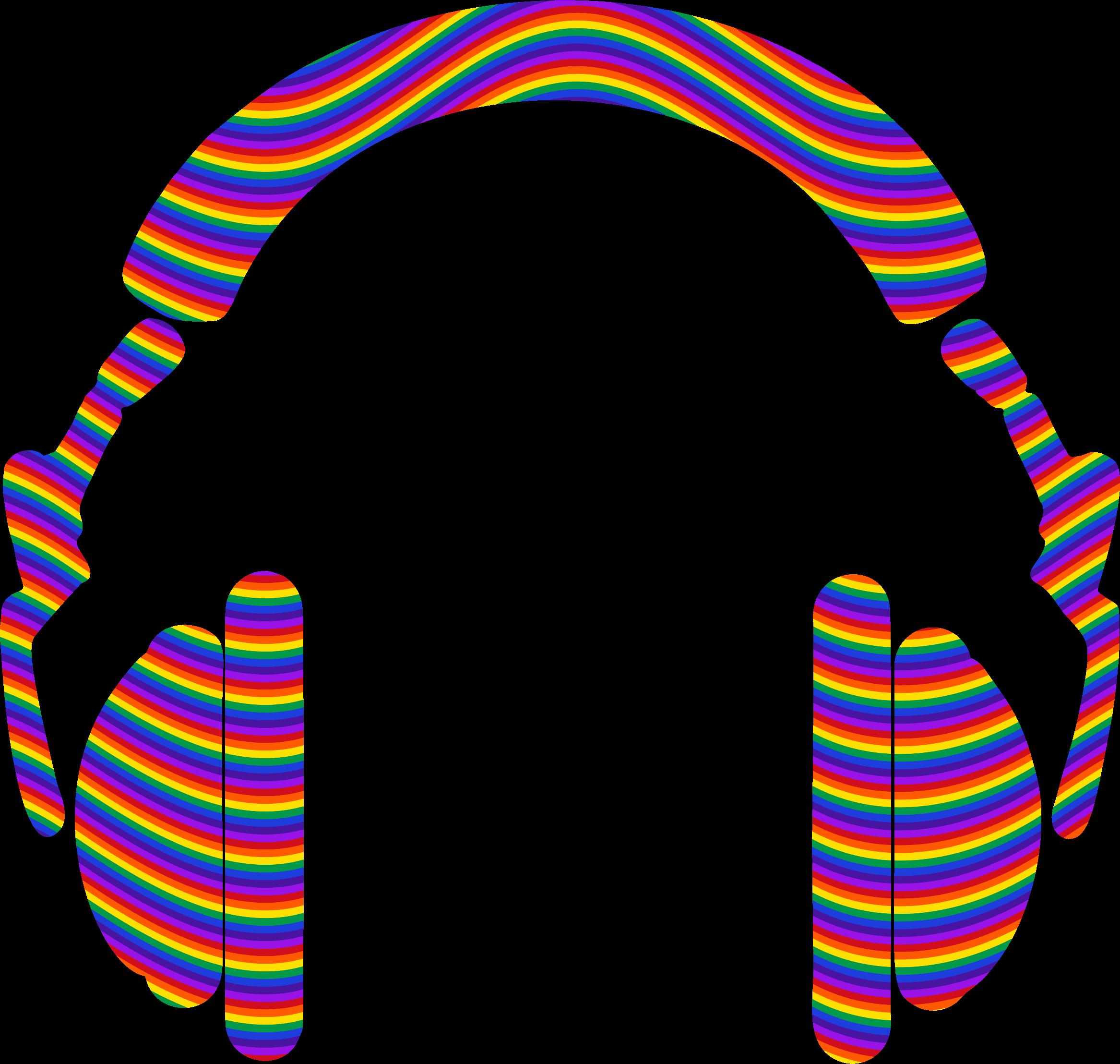 Clipart Waves Rainbow.