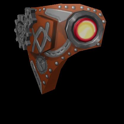 Steampunk Cyborg Face.