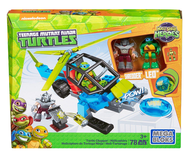 Mega Bloks Teenage Mutant Ninja Turtles Half.