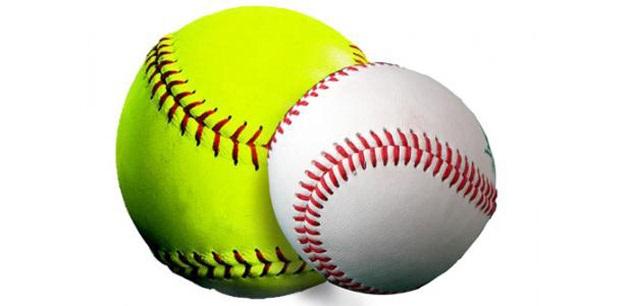 Baseball And Softball Clipart.