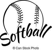 Half softball clipart » Clipart Station.