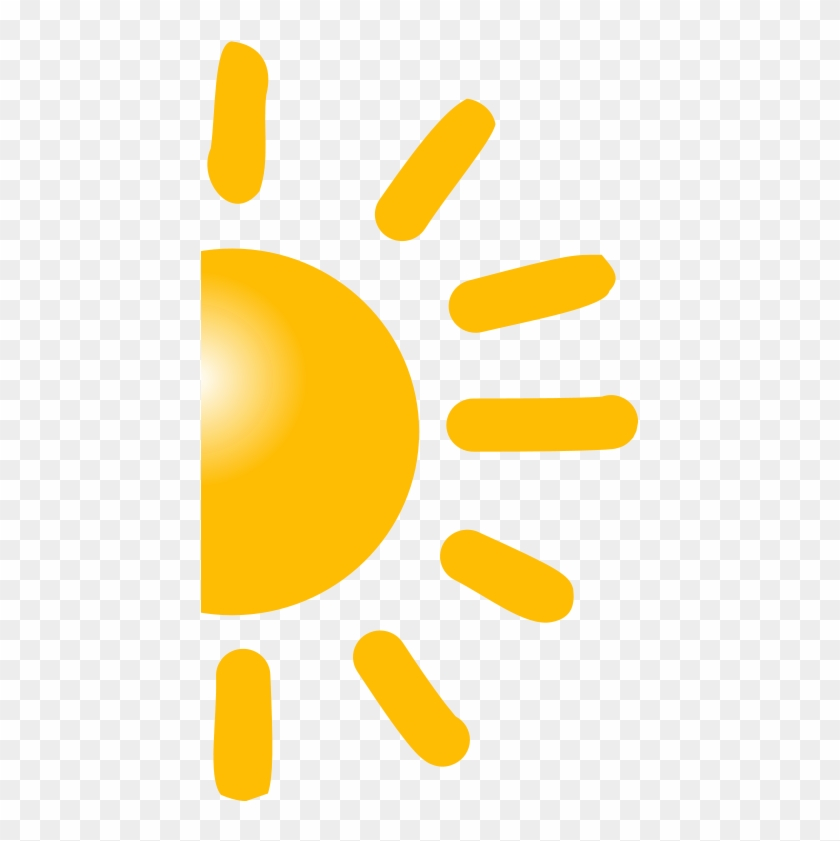 Half Sun Clipart Png, Transparent Png.