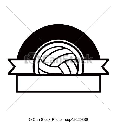 Half volleyball clipart 5 » Clipart Station.