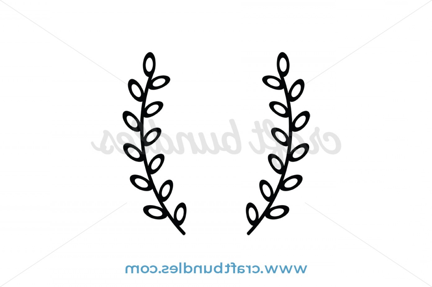 Laurel Wreath Svg Cut File Wreaths.