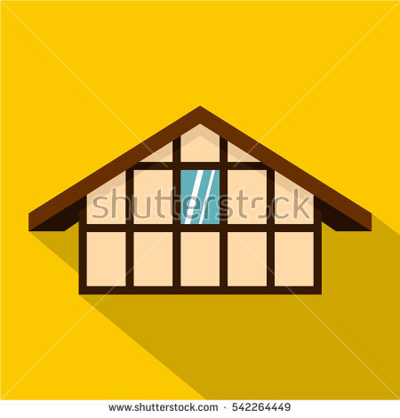 Timber Frame House Stock Vectors, Images & Vector Art.