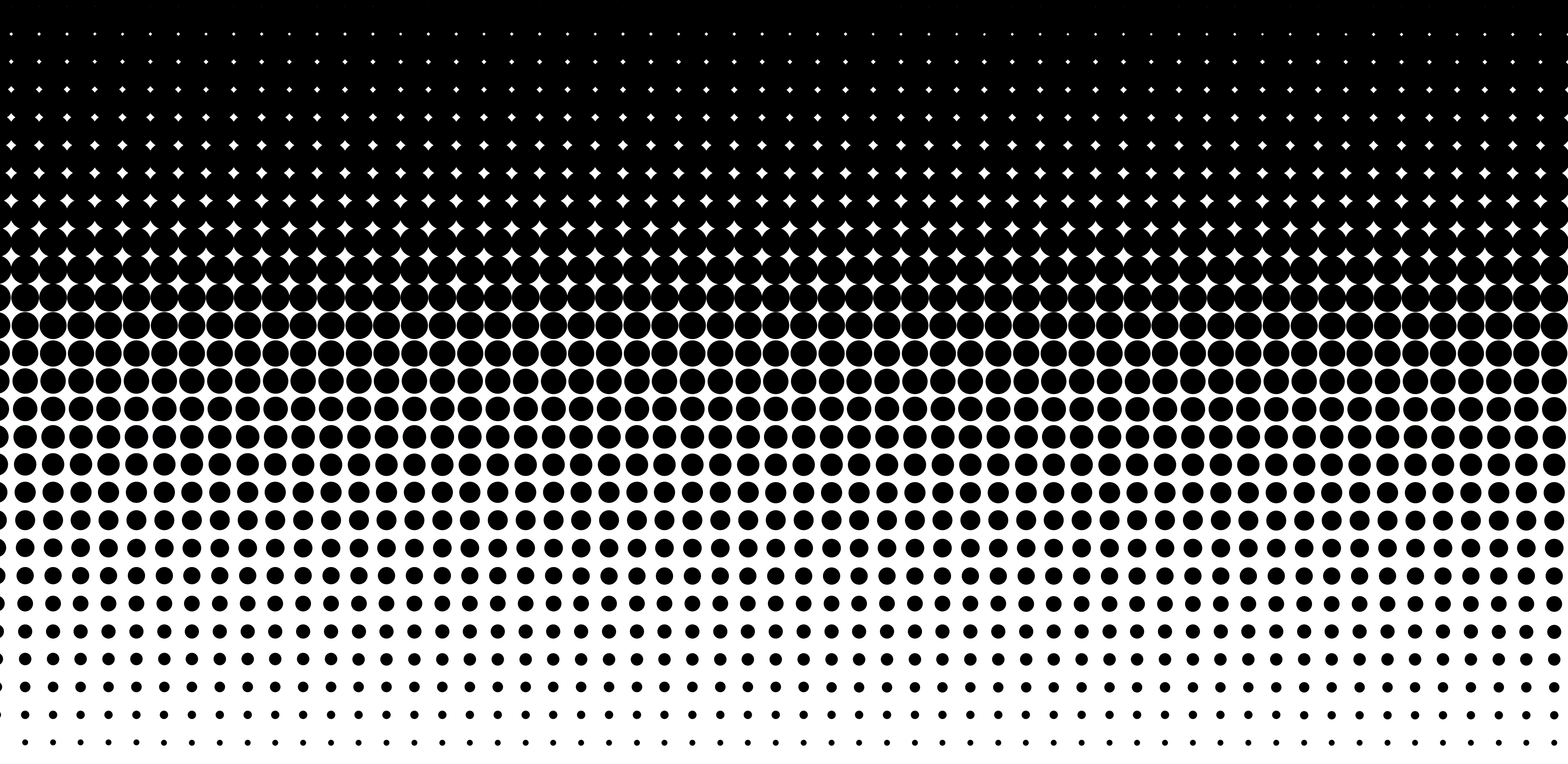 Black and White Halftone Background.