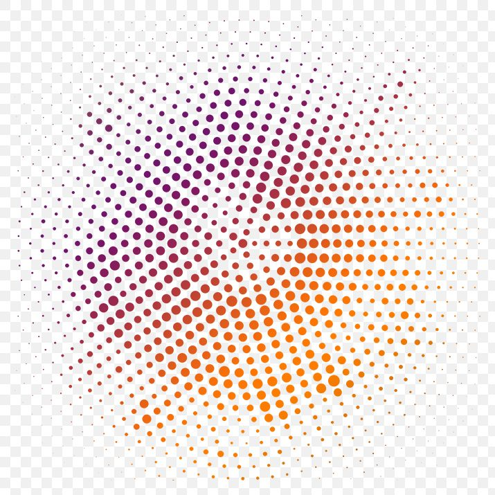 Circle Halftone PNG Image Free Download searchpng.com.