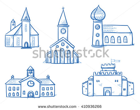 Church Stock Photos, Royalty.