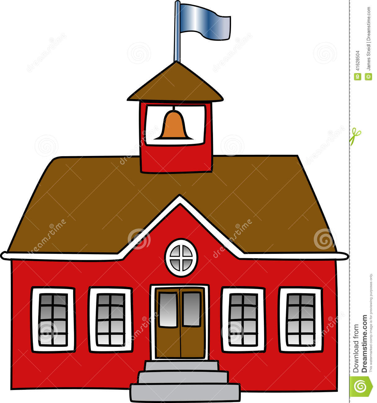 red town hall clipart clipground