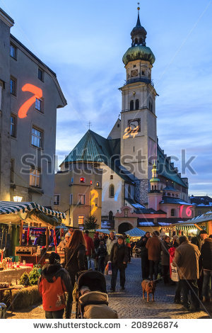 Austria Hall Tirol Stock Photos, Images, & Pictures.
