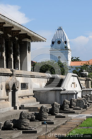 Independence Memorial Hall In Colombo, Capital Of Sri Lanka Stock.