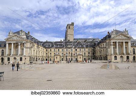 "Stock Photography of ""Ducal Palace, city hall, Place de la."