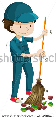 Janitor Stock Photos, Royalty.