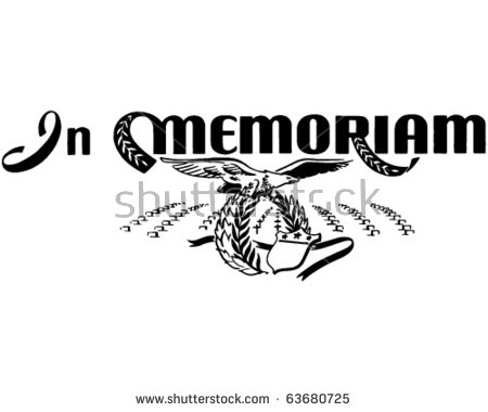 Memoriam Stock Photos, Royalty.
