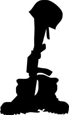 Fallen Soldier Shadow Woodcrafting Pattern This kneeling soldier.