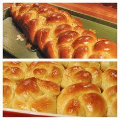 Clip Art: Challah Bread.