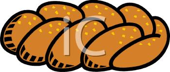Jewish Challah Bread.