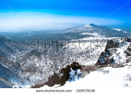 Halla Mountain Stock Photos, Royalty.
