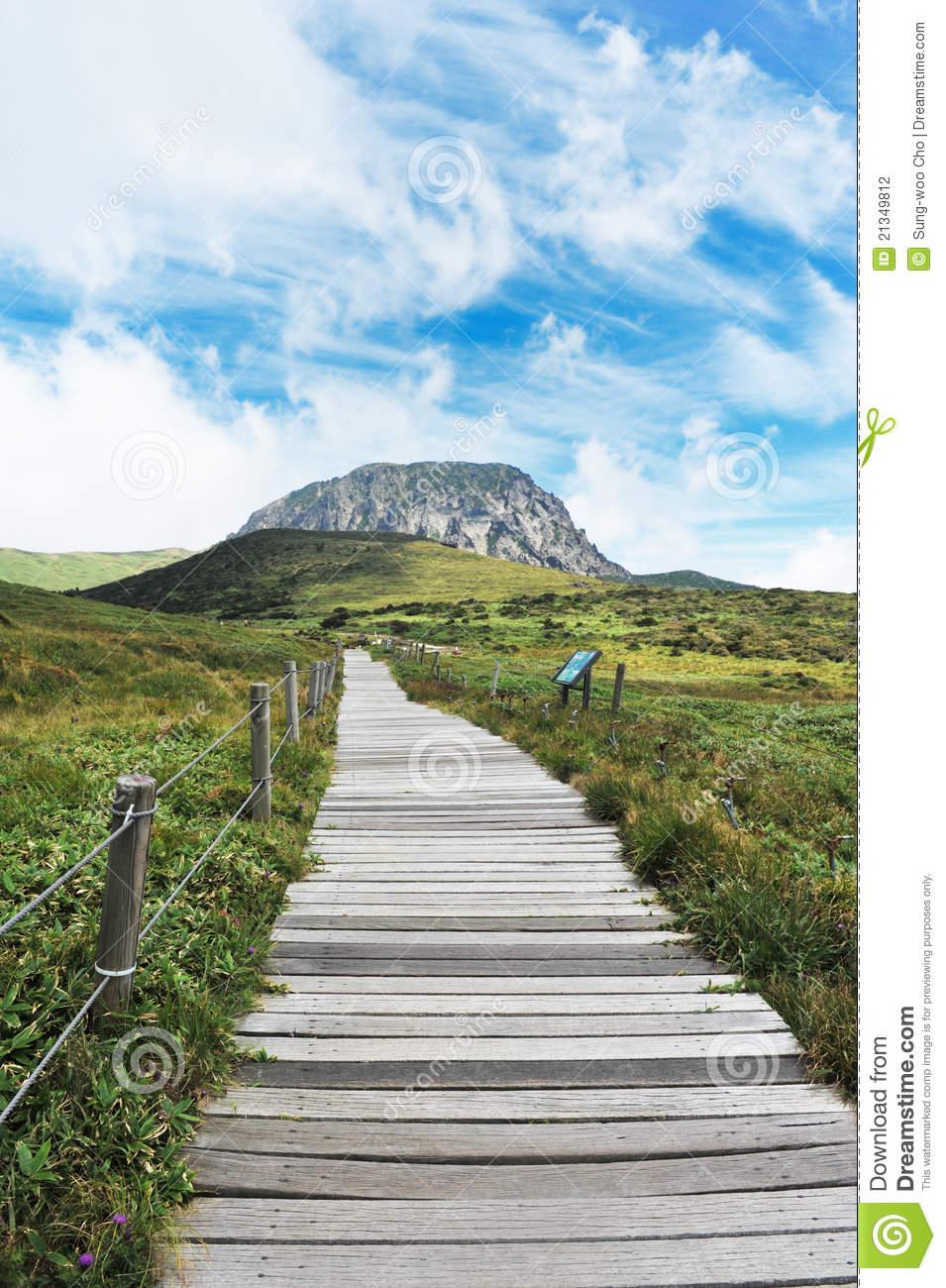 Jeju Halla Mountain Stock Photography.