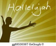 Hallelujah Clip Art.