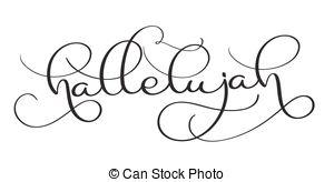 Hallelujah Illustrations and Clip Art. 204 Hallelujah royalty free.