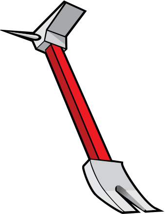 Halligan bar clipart clipart images gallery for free.