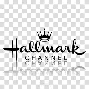 TV Channel icons , hallmark_black, Hallmark Channel logo.