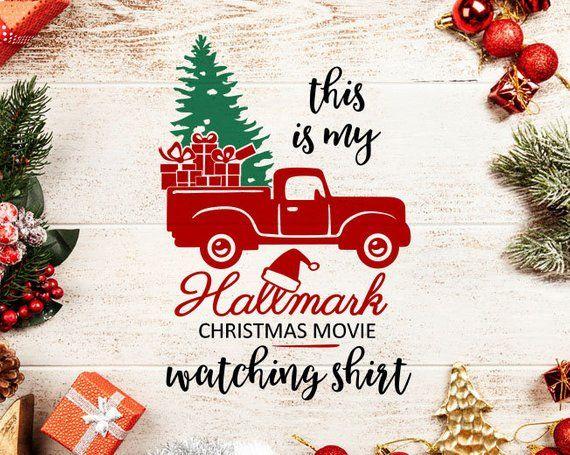 Christmas Movie Watching Shirt svg, Hallmark Channel svg.