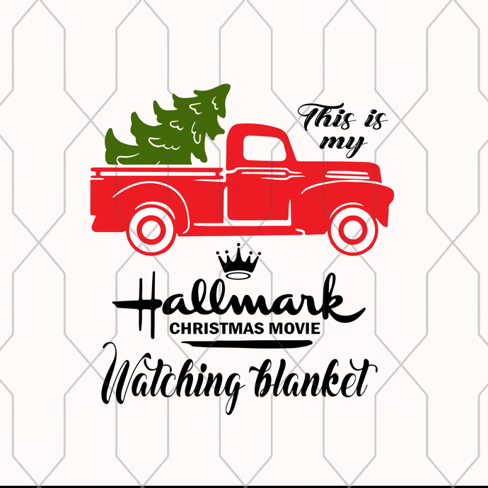 Christmas clipart, Christmas svg, Hallmark clipart, Hallmark movies,  Hallmark SVG, This is my Hallmark Christmas movie watching blanket,.