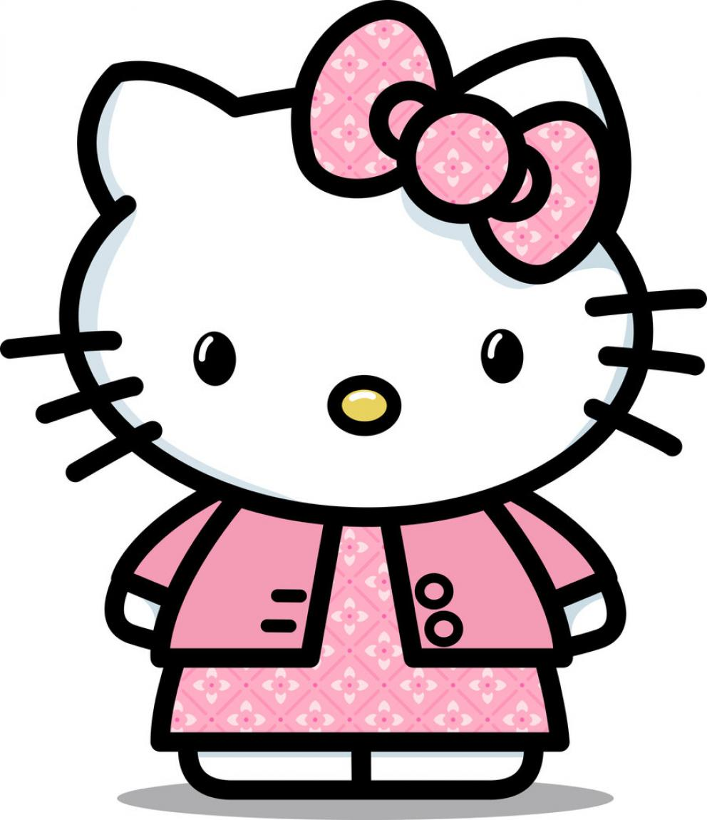 Hello Kitty Free Clip Art.