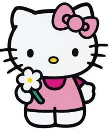 Hello Kitty Free Clip Art.