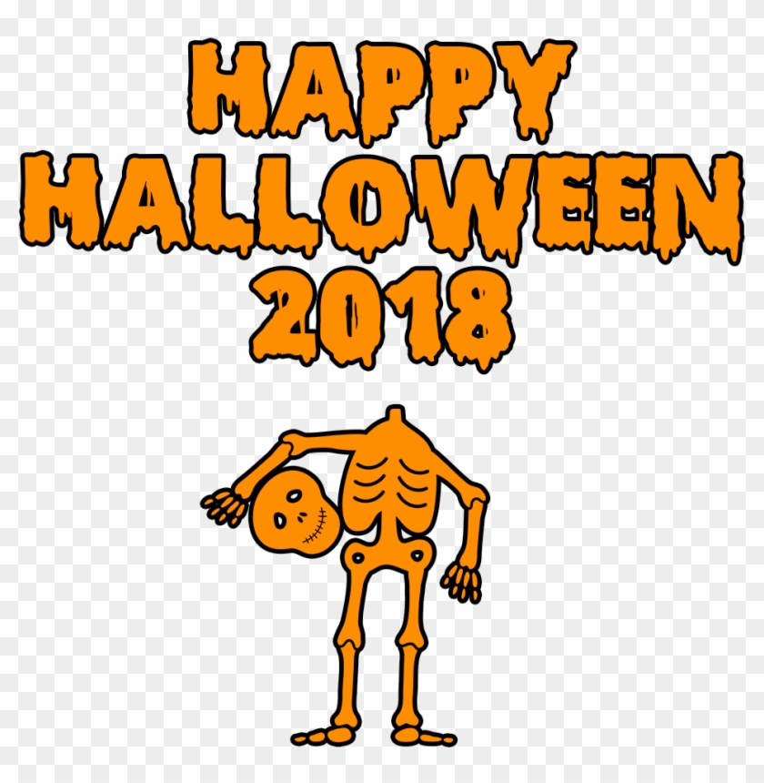 Download Happy Halloween 2018 Scary Skeleton Bloody.