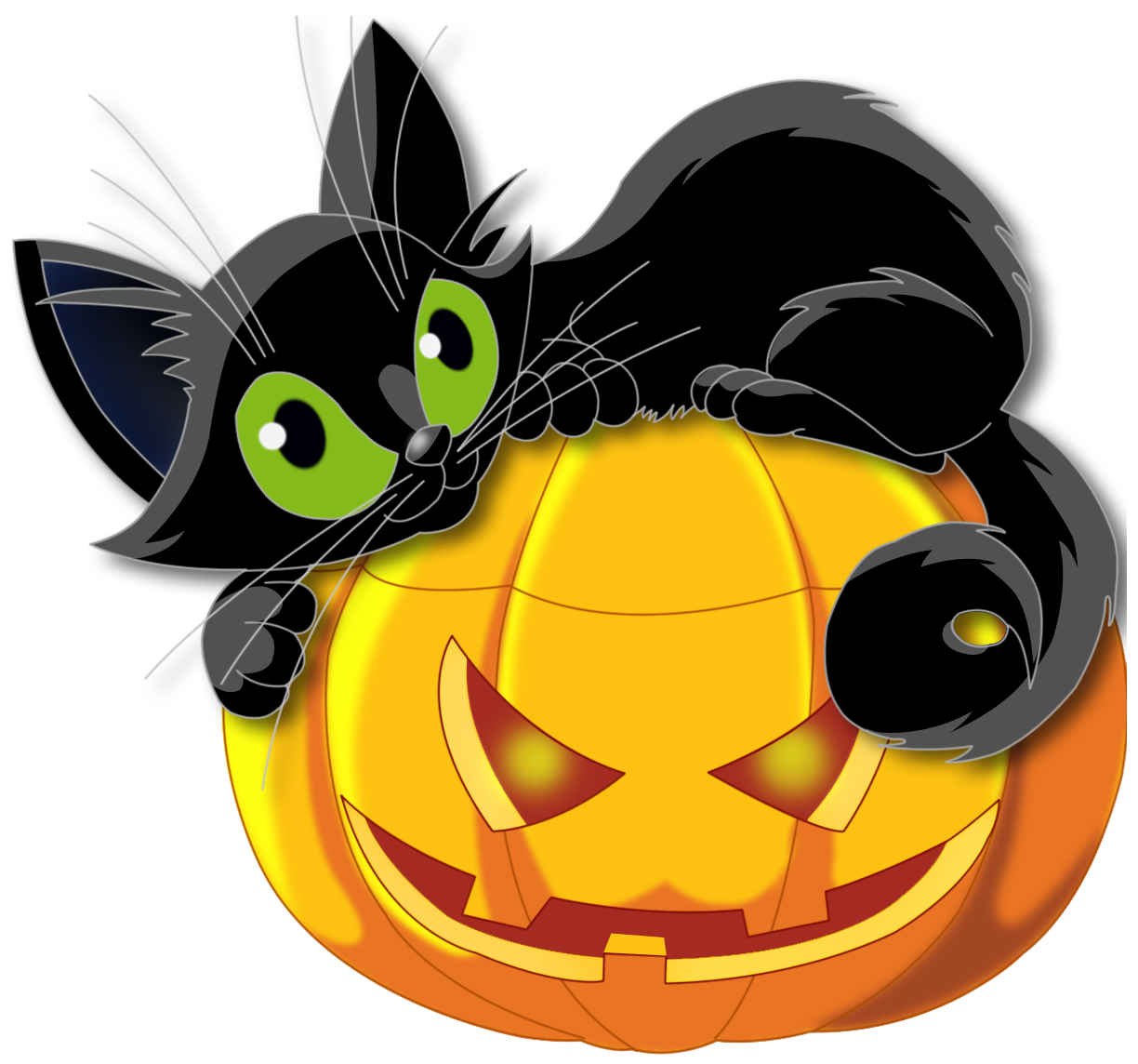 Showing post & media for Cartoon halloween animal clipart.