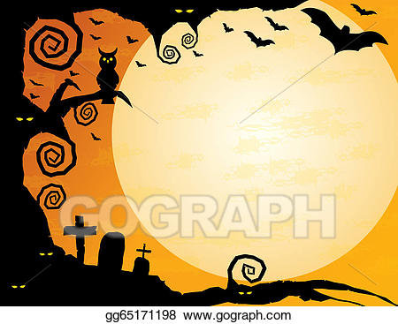 Halloween background clipart 2 » Clipart Station.
