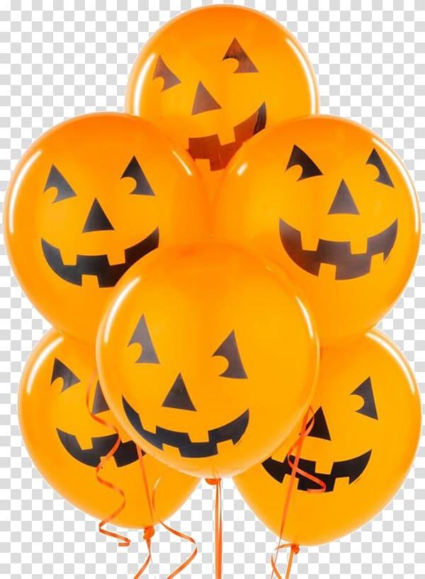 Halloween Balloon Party , Halloween Balloons transparent.