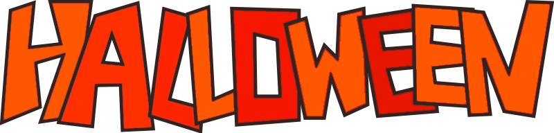 Happy Halloween Banner Clip Art.
