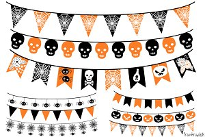 Halloween banner clipart Photos, Graphics, Fonts, Themes.