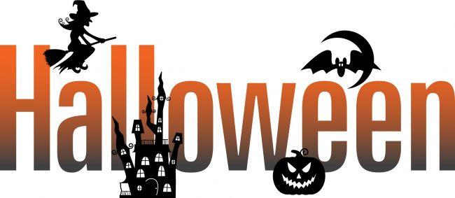 Halloween Banner Clipart.