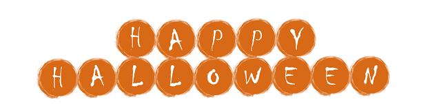 Free Printable happy halloween banner clipart template png images.