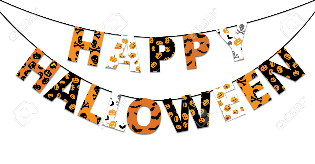 image about Happy Halloween Banner Printable called halloween banner clipart 20 absolutely free Cliparts Down load pics