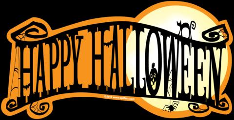 Happy Halloween Banner Png 1.