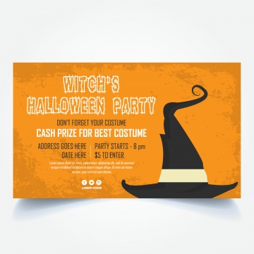 Halloween Banner Png, Vector, PSD, and Clipart With Transparent.