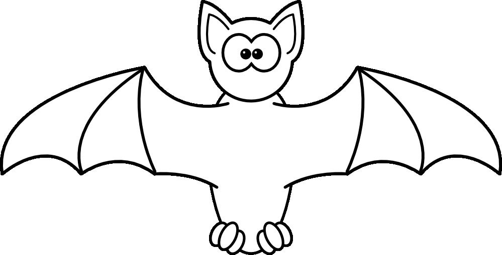 clipartist.net » Clip Art » Bat Black White Art Zeke Halloween SVG.