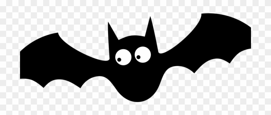 Halloween Bats Silhouette At Getdrawings Clipart (#2690508.