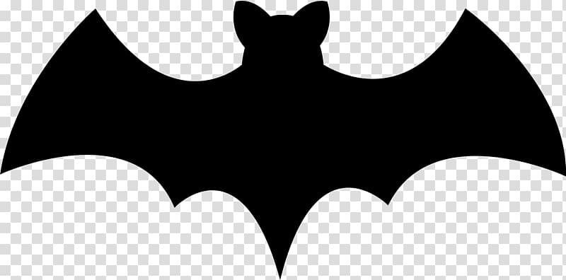 Bat Halloween Silhouette , bat transparent background PNG.