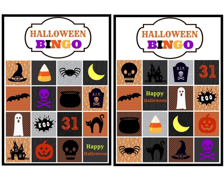 halloween bingo 1 & 2.